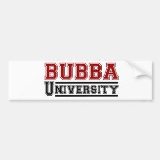 Bubba Bumper Sticker