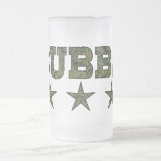 Bubba camouflage stars mugs