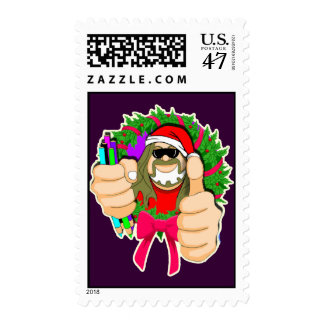 BUBBA CLAUS STAMP