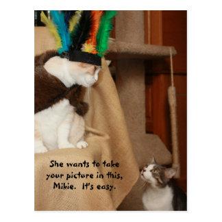 Bubba Coaching Mikie Postcard