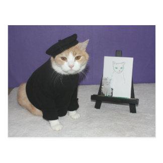 Bubba, d'artiste de la charla postales
