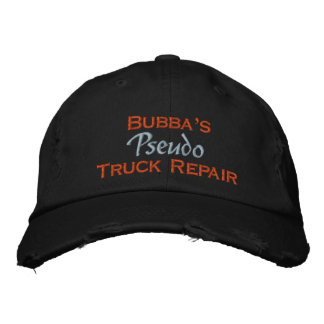 Bubba Embroidered Baseball Cap
