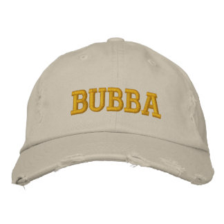 Bubba Embroidered Baseball Hat
