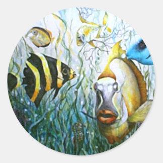 Bubba Fish Stickers