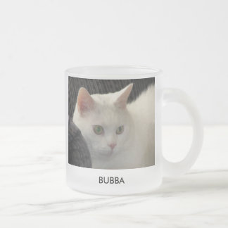 Bubba Frosted Glass Coffee Mug