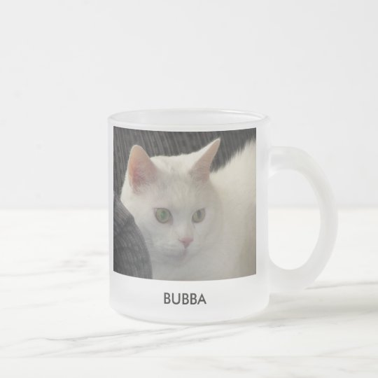 Bubba Frosted Glass Coffee Mug