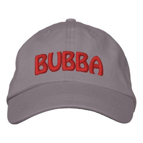 Bubba Funny Redneck Name Embroidered Baseball Cap