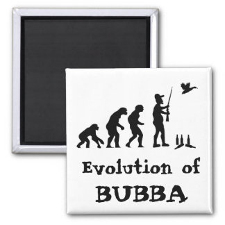Bubba - Homo Redneck ius 2 Inch Square Magnet
