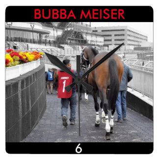 Bubba Meiser Square Wall Clock