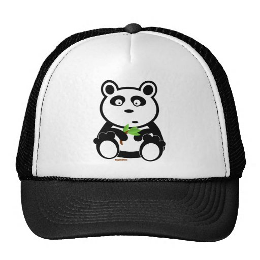 Bubba Panda Bear Mesh Hats
