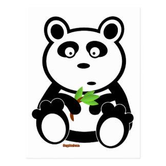 Bubba Panda Bear Postcard