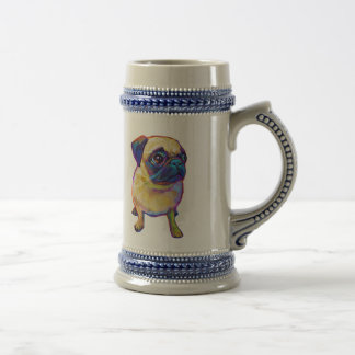 Bubba The Pug Beer Stein