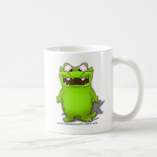 Bubba the Talking Calculaotr Monster Coffee Mug