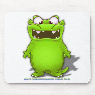 Bubba the Talking Calculaotr Monster Mouse Pad