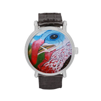 Bubba the Turkey Oil Painting Watch