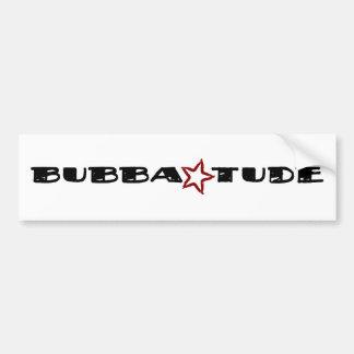 Bubba Tude Etiqueta De Parachoque
