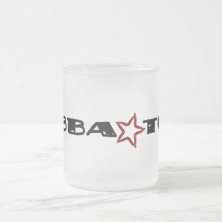 Bubba Tude Frosted Glass Coffee Mug
