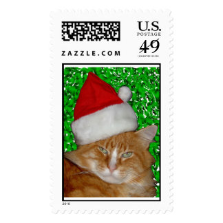 Bubba With Santa Hat Stamp