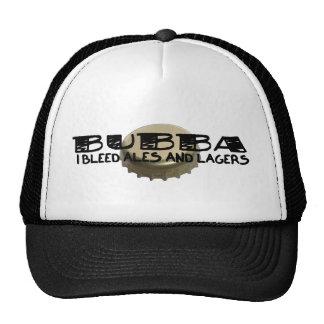 Bubba y casquillo de la botella de cerveza gorro de camionero