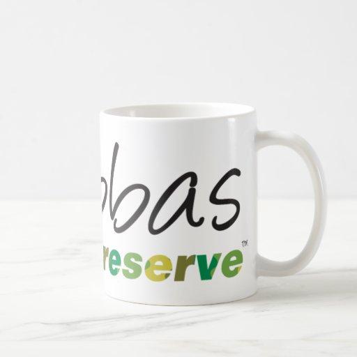 Bubbas Game Preserve Classic White Coffee Mug
