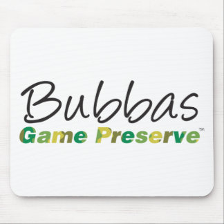 Bubbas Game Preserve Mouse Pad
