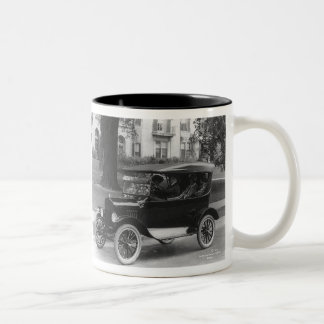 Bubba's  Remember , The Good Times Two-Tone Coffee Mug