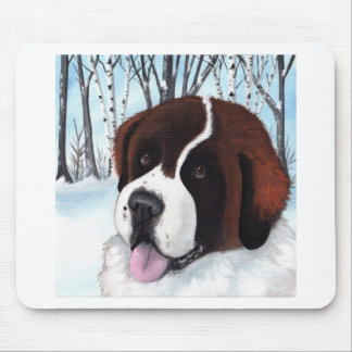 Bubba's Snowy Adventure Mouse Pad