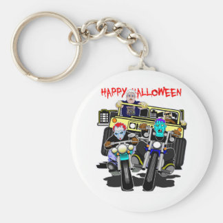 BUBBA'S TOONE TEES / HAPPY HALLOWEEN KEYCHAIN