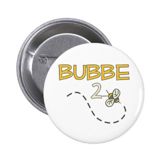 Bubbe 2 Bee Pinback Buttons
