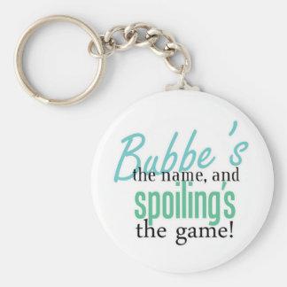 Bubbe' s el nombre, y Spoiling' s el Gam Llavero Personalizado