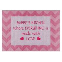 Bubbe's Kitchen (Customizable) Cutting Board