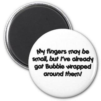 Bubbie's Wrapped! Fridge Magnets