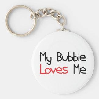 Bubbie Loves Me Keychain