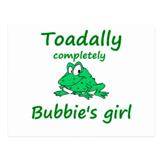 Bubbie's girl post cards