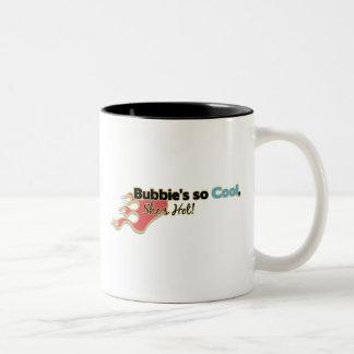 Bubbie's So Cool She's Hot Coffee Mugs