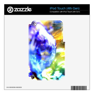Bubble Abstract.jpg iPod Touch 4G Decal