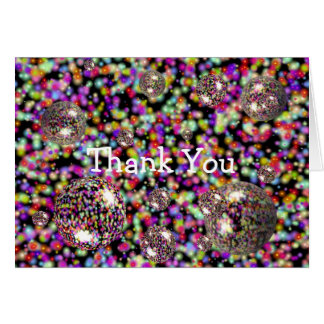 Bubble And Sweet Thank You Card