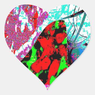 Bubble Archive Heart Sticker