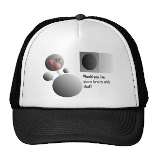 bubble art funny situations trucker hat