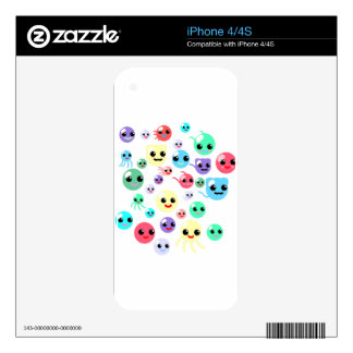 Bubble Babies Skin For iPhone 4S
