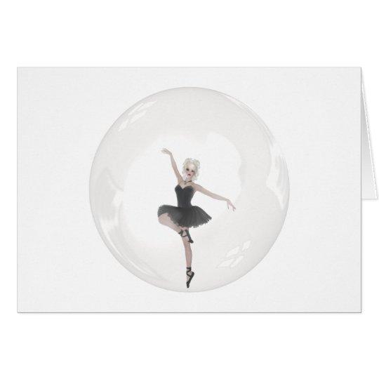 Bubble Ballerina 1 Card
