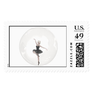 Bubble Ballerina 1 Stamps
