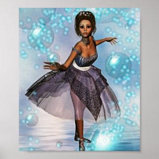 Bubble Ballet Poster