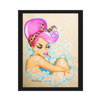 """Bubble Bath"" Canvas Print"