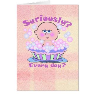 Bubble Bath Card