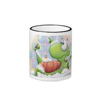 Bubble Bath Dragon Ringer Mug
