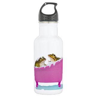 Bubble bath for pet frogs 18oz water bottle
