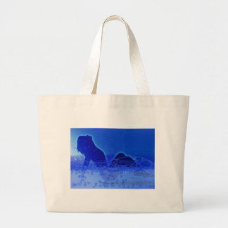 Bubble Bath Large Tote Bag