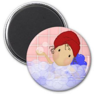 Bubble Bath Magnet