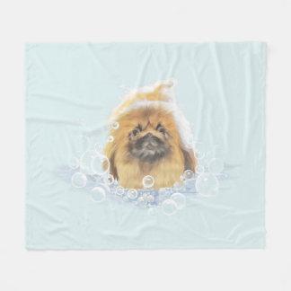 Bubble Bath Fleece Blanket
